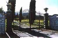 Cancello Villa Vignocchi