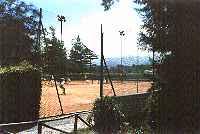 Tennis near Villa Bernardini